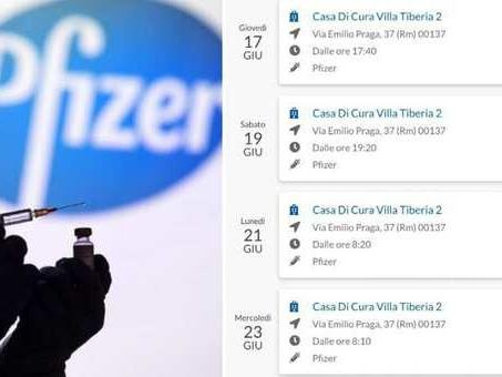 Pfizer Lazio, ecco come anticipare la prenotazione del vaccino senza perdere l'appuntamento