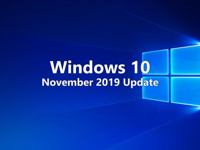Microsoft rilascia Windows 10 November 2019 Update assieme al 1° Aggiornamento Cumulativo di novembre 2019 (KB4524570)