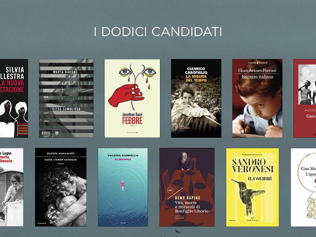 Annunciati online i 12 libri in corsa per il Premio Strega 2020