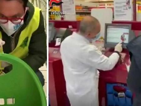 Covid nei supermercati: tracce su pos, banchi gastronomia e carrelli. Il blitz dei Nas