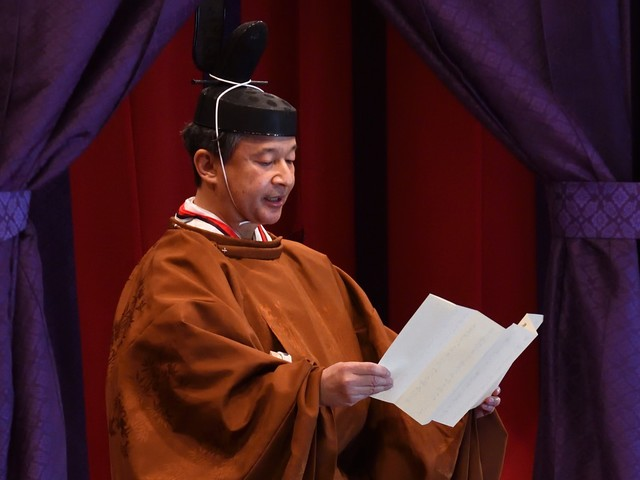Naruhito, l'imperatore del dovere. Sul trono dopo la rinuncia del padre