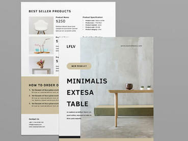 25 Best New Product Flyer Design Templates (Inspirational Examples 2020)