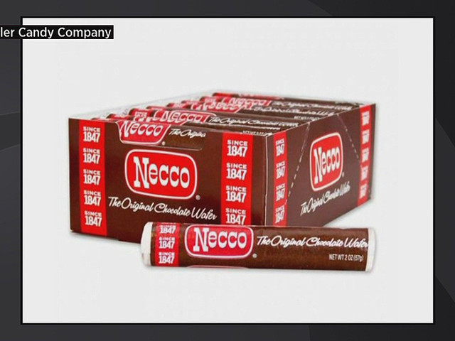 Necco Chocolate Wafers Return For Patriots' Day