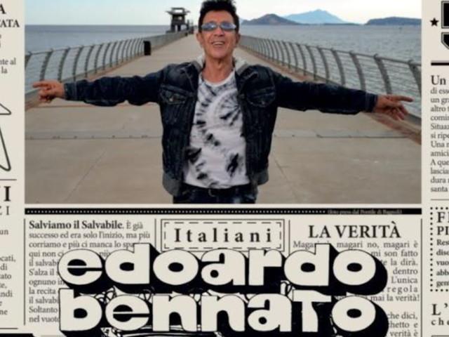 Arriva il nuovo album di Edoardo Bennato: in anteprima la cover del disco