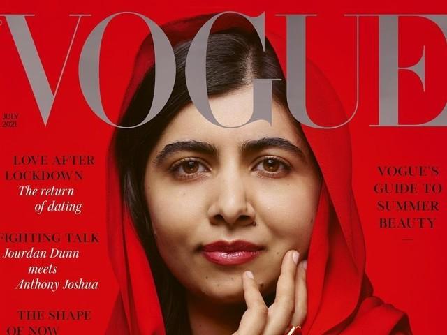 Malala Yousafzai su Vogue: in copertina non più solo le modelle, ma le donne che fanno la differenza