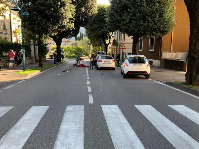 Ancora prognosi riservata per la donna investita da un'auto in viale Canella