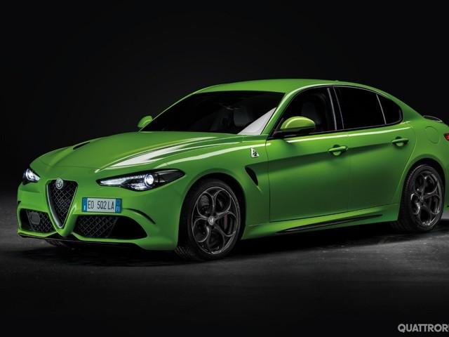 Alfa Romeo - La Giulia verde fluo del nuovo film di Michael Bay - FOTO GALLERY