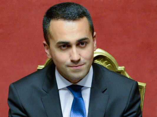 """""""Con il Pd non è al momento prevista nessuna alleanza"""", dice Di Maio"""