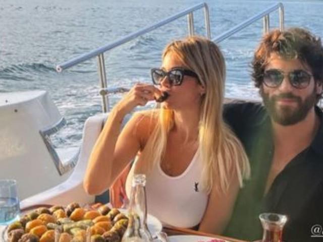 Diletta Leotta in Turchia: gita in barca e tanto altro col suo Can Yaman