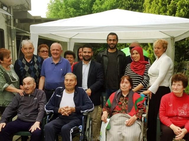"""Il sindaco in visita alle case famiglia: """"Un servizio importantissimo"""""""