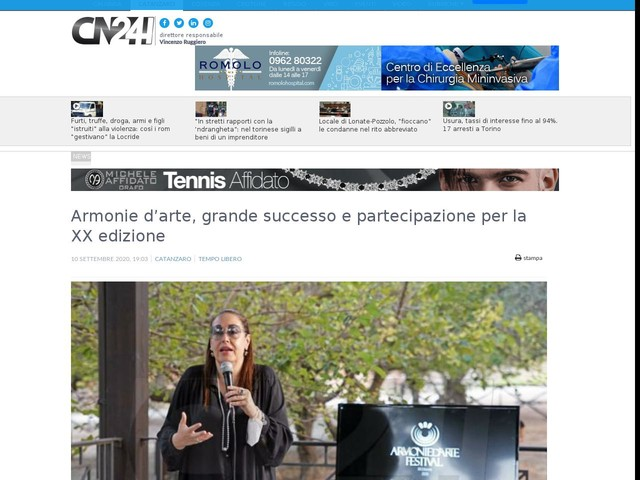Armonie d'arte, grande successo e partecipazione per la XX edizione