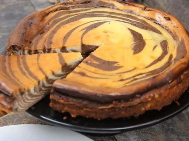 Cheesecake zebrata: la ricetta del dolce soprendente facile da preparare