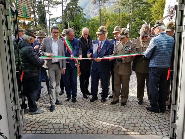 Al Doss Trento oggi inaugurato il Museo nazionale Storico degli Alpini