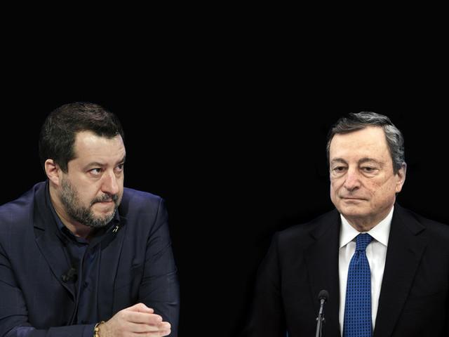 """Salvini da Draghi, mediazione sulle pensioni per evitare """"un ritorno alla legge Fornero"""""""