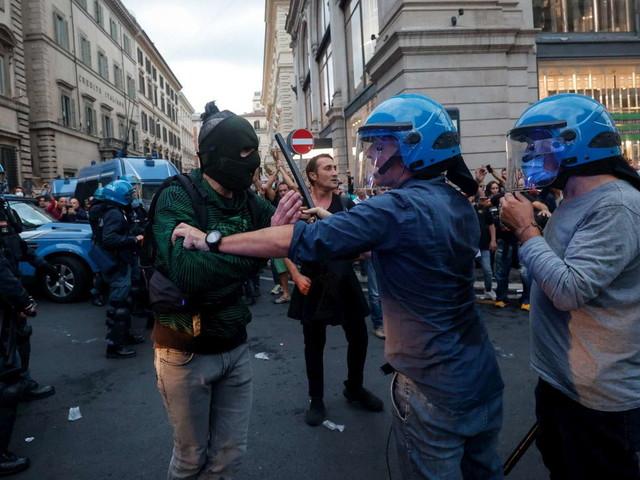 Scontri a Roma, Letta chiama alla piazza ma il centrodestra si sfila