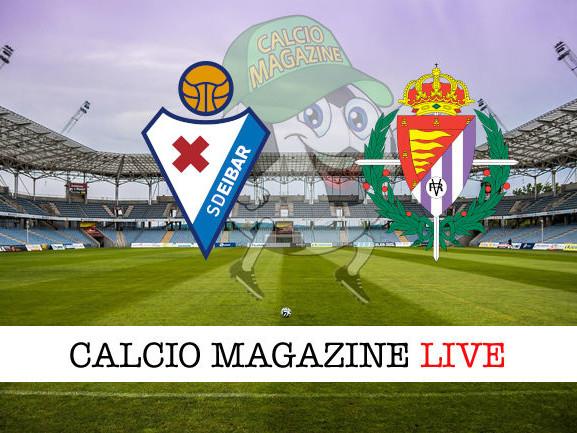 Eibar – Valladolid 1-1: diretta live e risultato in tempo reale