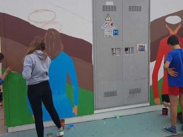 Le cabine dell'Enel di Padova rivivono con i colori dell'arte urbana