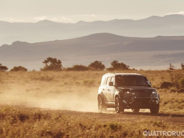 Land Rover - Defender pivot per tutta la gamma