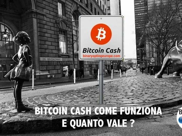 Cambio BCH/EUR - Quanto vale 1 Bitcoin Cash in Euro e dove comprare? [2021]