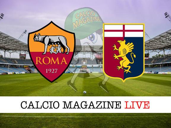 Roma – Genoa: cronaca diretta live, risultato in tempo reale