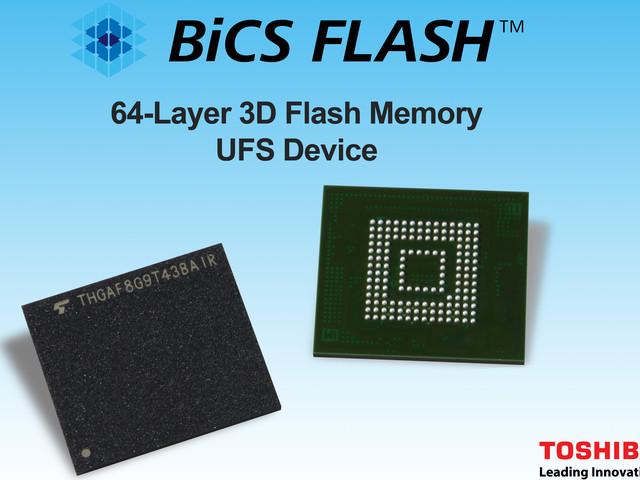 Toshiba svela le sue nuove memorie UFS 2.1: fino a 900 MB/s in lettura sequenziale