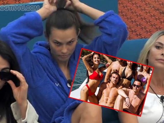 """GF Vip, """"Beretta sta con Giulia De Lellis ma era amico di Damante"""", Dayane Mello scopre tutto (VIDEO)"""