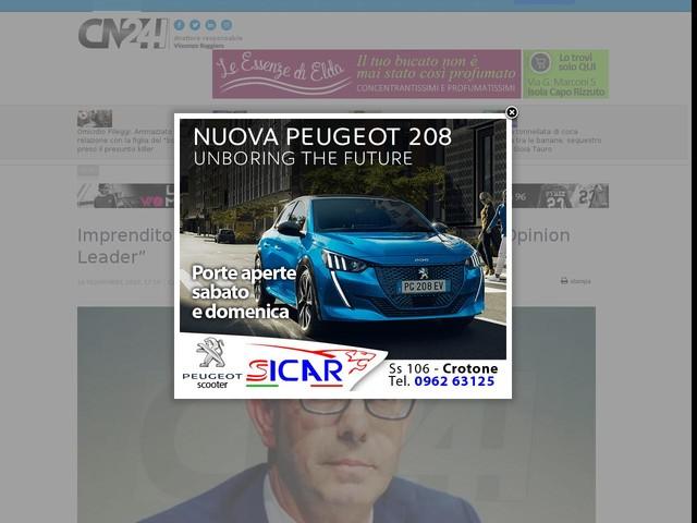 "Imprenditoria: Confapi Calabria firma l'accordo ""Opinion Leader"""