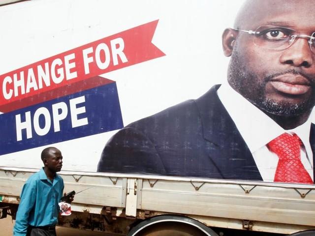 Weah in vantaggio nelle presidenziali in Liberia