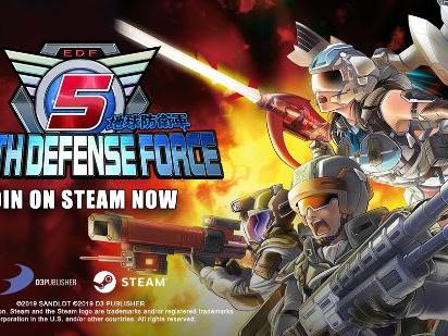 EARTH DEFENSE FORCE 5 disponibile da oggi su Steam