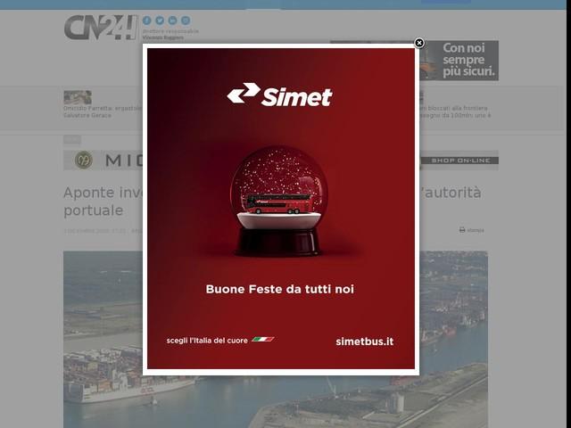 Aponte investe sul Porto di Gioia: oggi la visita all'autorità portuale