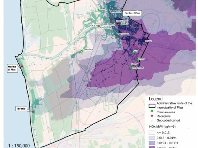 Pubblicata la ricerca del Cnr di Pisa relativa agli impatti sulla salute dell'inceneritore