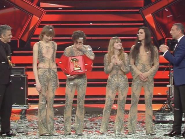 I Maneskin hanno vinto Sanremo 2021