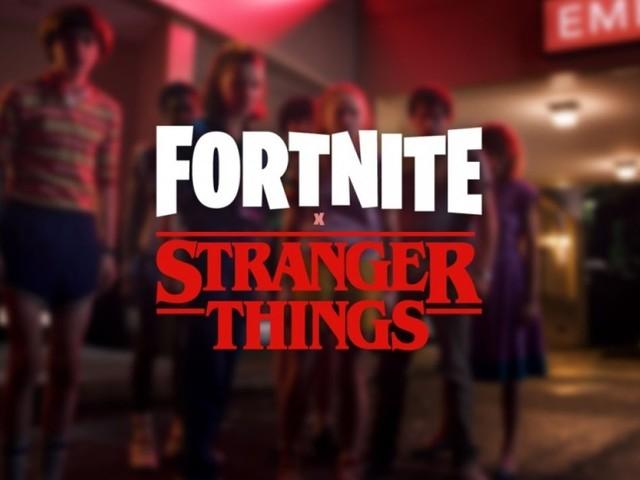 Annunciato un crossover tra Fortnite e Stranger Things