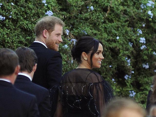 Harry e Meghan, ospiti d'onore alle nozze romane di Misha Nonoo