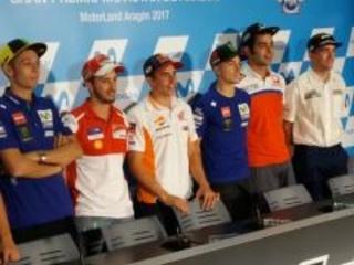MotoGP Aragon 2017, parola ai piloti: la conferenza stampa del giovedì