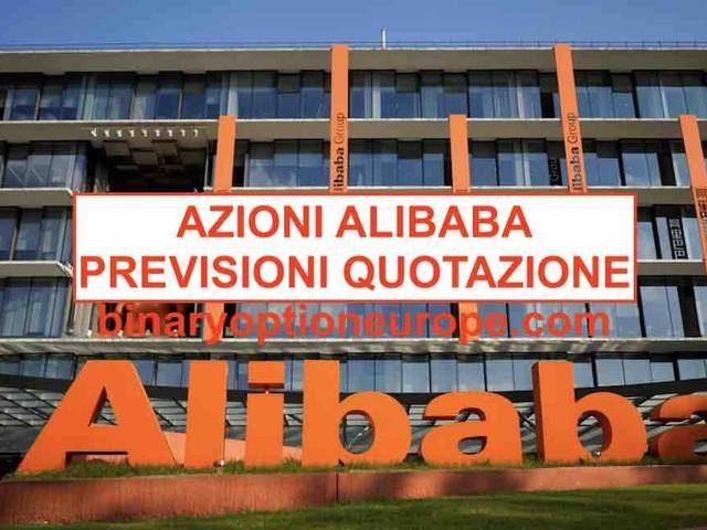Comprare Azioni Alibaba [2020] grafico, dividendo equotazione