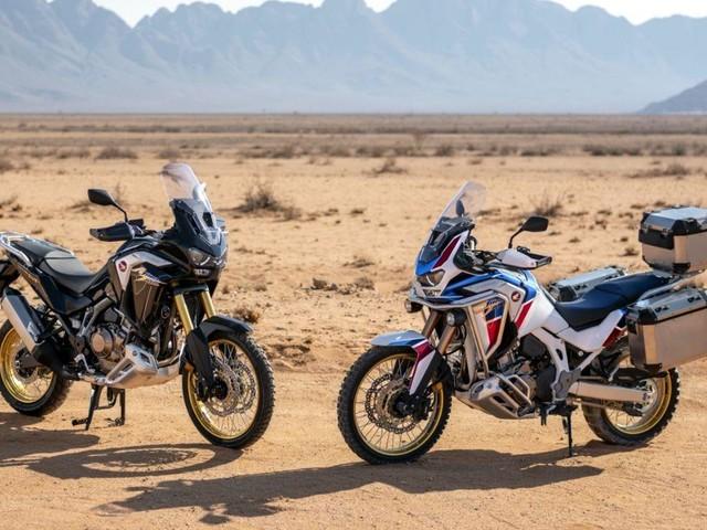 Honda rafforza l'anima giramondo di Africa Twin