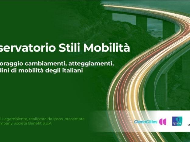Ripartenza: per muoversi l'88% degli italiani usa mezzi privati, cala il trasporto pubblico locale, riprende la sharing mobility