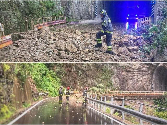 Maltempo nel Lecchese, allarme per la diga a Dervio: evacuate 120 persone da un campeggio
