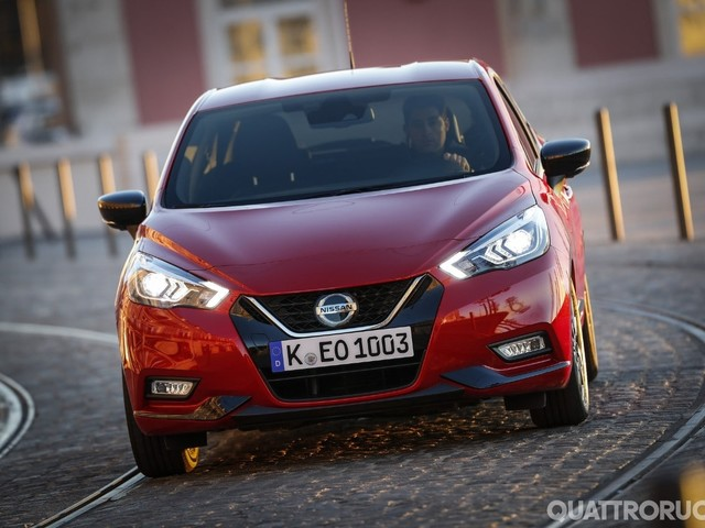 Nissan Micra - Al volante della versione a Gpl