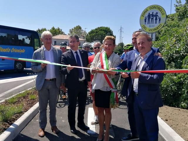 Nuovo tratto di pista ciclabile a Cavallino-Treporti, un progetto di connessione per il territorio metropolitano