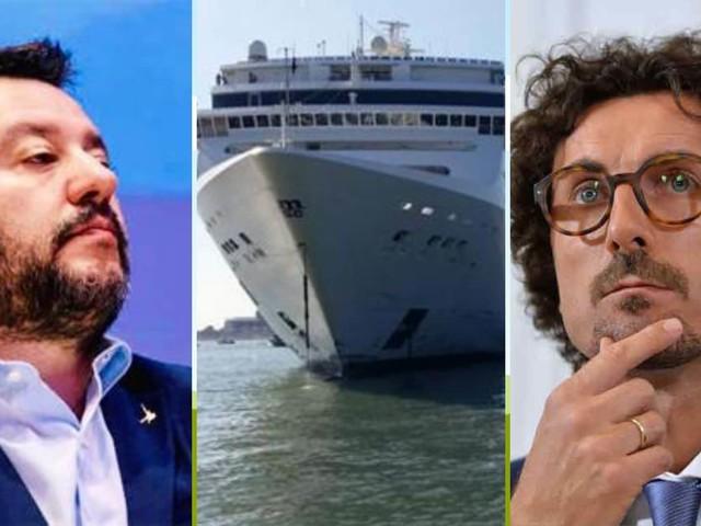 Porti chiusi per i migranti, aperti per i mostri del mare: la tragedia sfiorata di Venezia mette in ridicolo Salvini e Toninelli