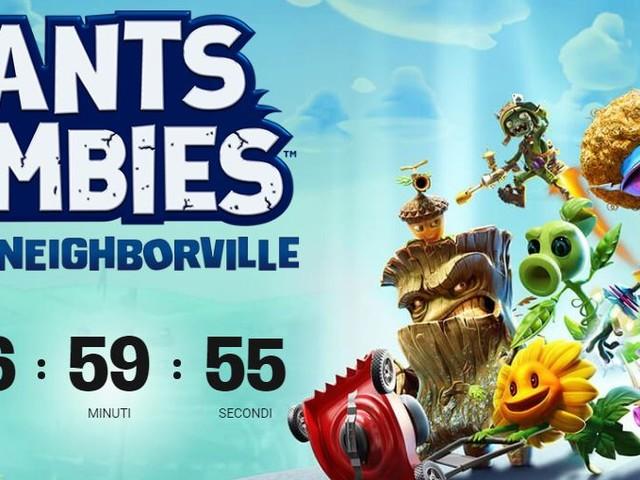 Plants vs Zombie Battle for the Neighborville sarà svelato oggi: tutti i dettagli da EA
