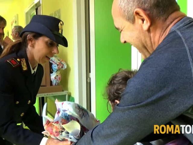 Uova di Pasqua e postazioni internet sicure, la Polizia postale al reparto oncologia pediatrica