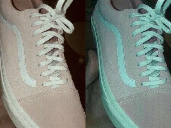 Di che colore sono le sneakers? La foto manda in tilt i social