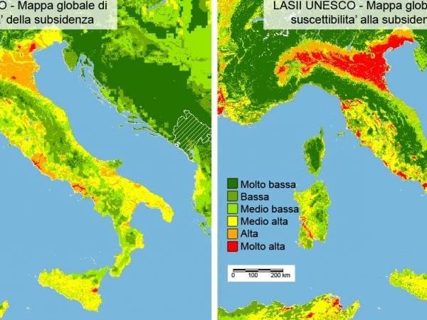 Subsidenza: una mappatura globale