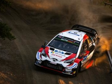 Rally di Finlandia: Tanak e la Toyota primi nella seconda tappa