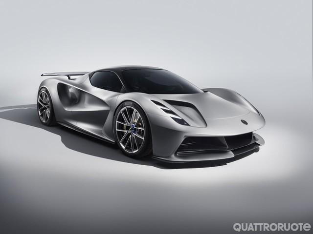 Lotus Evija - 2.000 CV per la prima elettrica del marchio