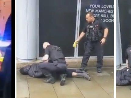 Manchester, accoltellati al centro commerciale