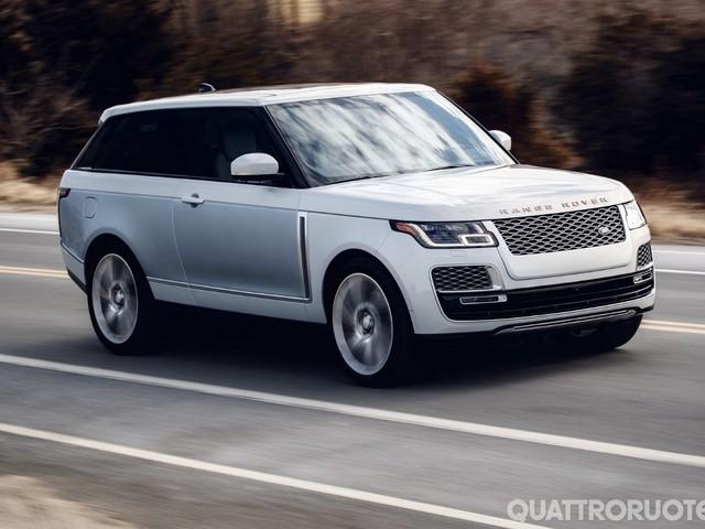 Range Rover - La SV Coupé non entrerà in produzione
